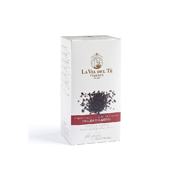イングリッシュブレックファスト<br>コットンティーバッグ 20個入り<br>★最高級の紅茶<br>古典的なブレンド紅茶強い味わいと香り<br>朝食に最適★