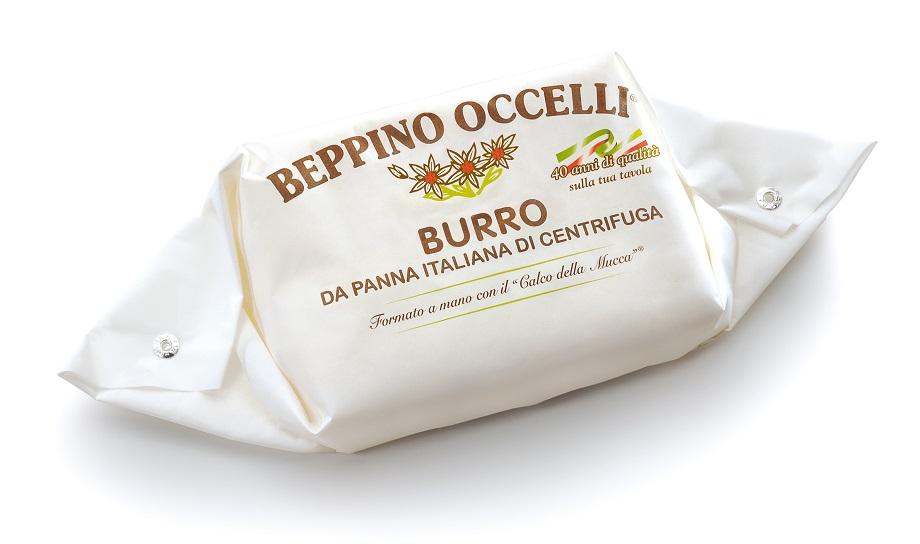 【次回10月半ば頃入荷予定】ベッピーノ オッチェッリ 無塩発酵バター250g<br>★ヨーロッパ、アメリカで一位獲得。<bb>★フレッシュで濃厚、食べた後余韻が残り素晴らしく美味しい<br>
