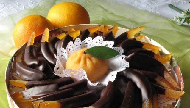 オレンジピールのチョコレート【2020年9月★再入荷】