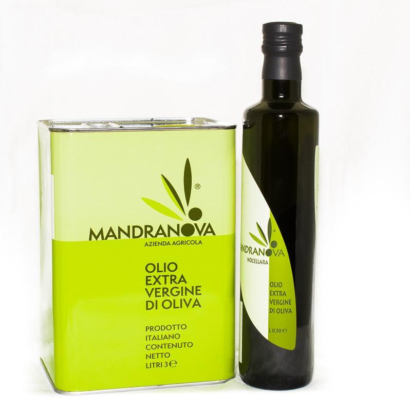 【新入荷20%セール 4/20まで】<br>マンドラノーバ/500ml<br>★青いトマトのような青々しくフルーティーな味わい。<br>酸度がまれにみる低い高品質のオイルです。★
