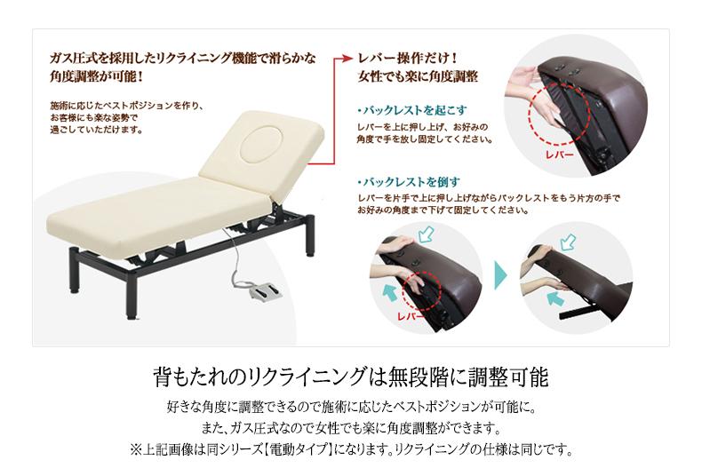 FV-222R ハイローリクライニングベッド 枕3点セット付き