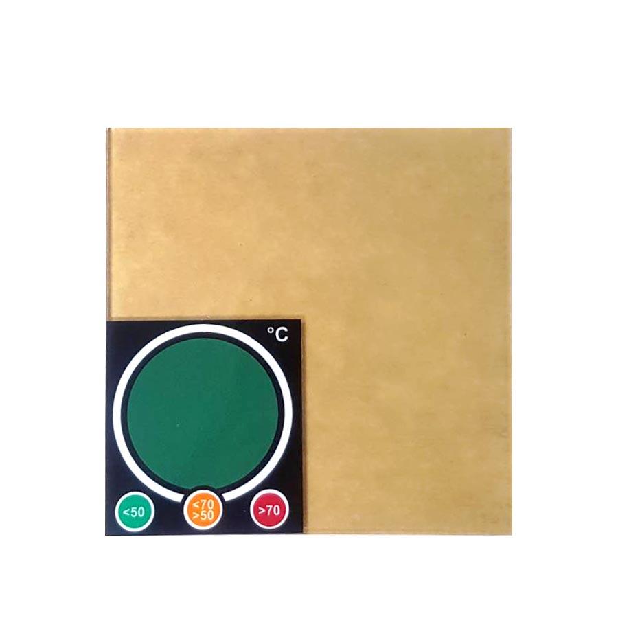 ハイフ(HIFU)テスト用アクリル板(温度感知シール付き)