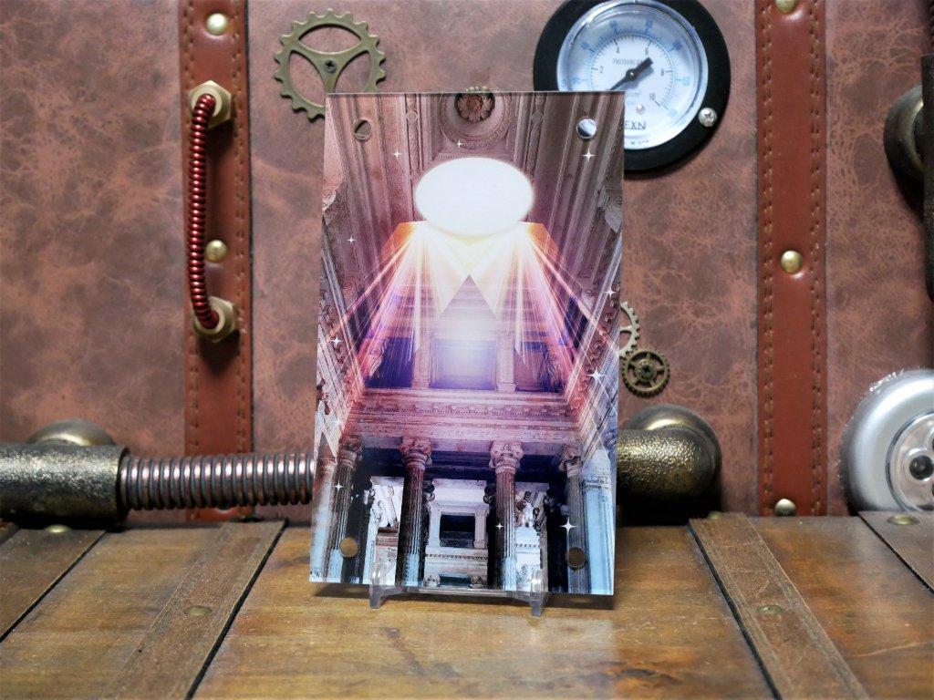 アクリルデザインプレート 神殿