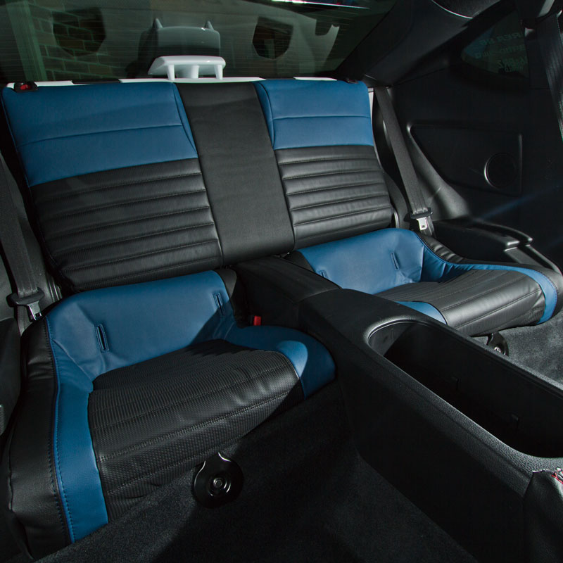 86×CABANA+INGING シートカバー 【CABANA Racing】 ブルー/ブラック