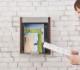 郵便ポスト ポスト 郵便受け 壁掛け 壁付け 大型 A4 鍵付き 磁石開閉 天然木ステンレス