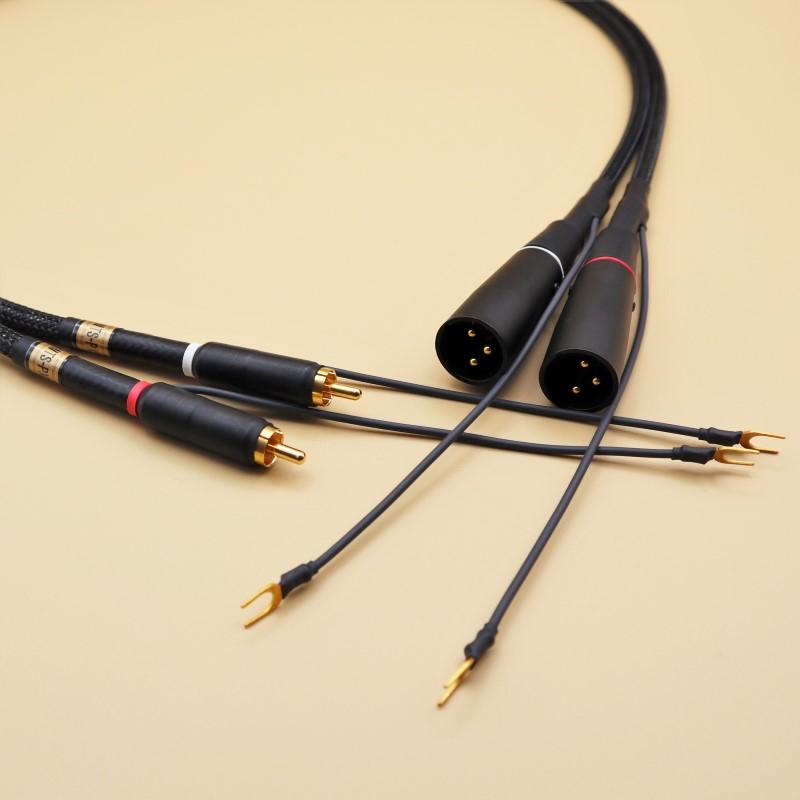 RCA-XLRフォノケーブル(バランス伝送対応) WTS-PX5200