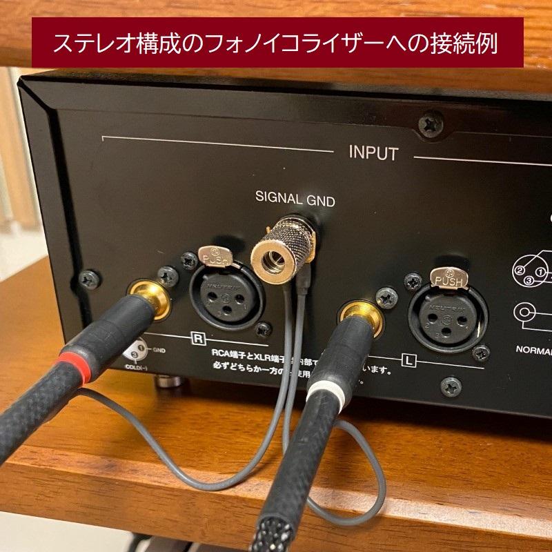 5pin-RCAフォノケーブル(バランス伝送・アンバランス伝送両方式対応) WTS-PD5200