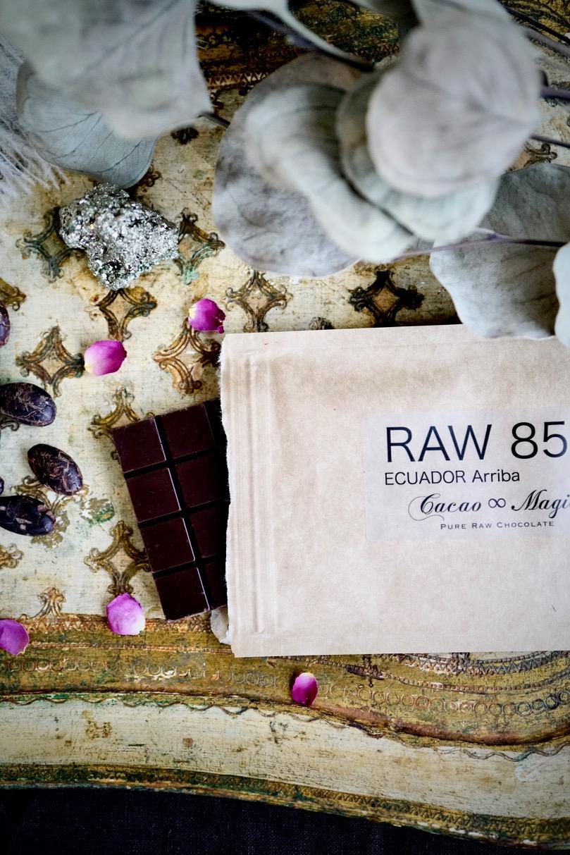 RAW Ecuador Arriba | Cacao 85%/ 77%/ 70%  エクアドル・アリバ種 ローチョコレートタブレット
