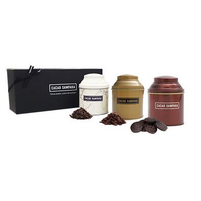 チョコレートドリンク用 フレーク 3缶セット