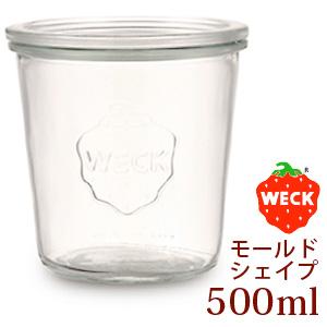 WECK【ウェック】 モールドシェイプ 500ml/MOLD SHAPE WE-742