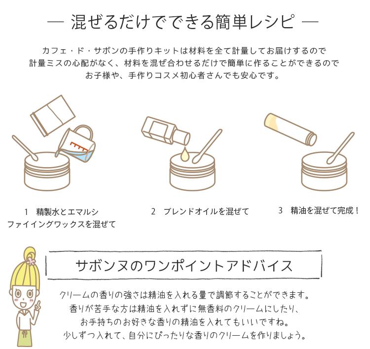 ローズクリーム手作りキット