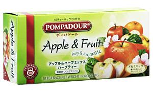 ポンパドール アップル&フルーツ 10ティーバッグ