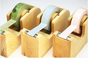 木製テープカッター 【倉敷意匠計画室】