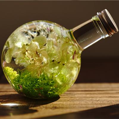 国産ガラス瓶 ラウンド 300ml