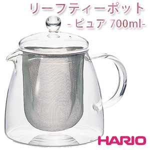 【52%オフ】ハリオ リーフティーポット ピュア 700ml [CHEN-70T]【HARIO】