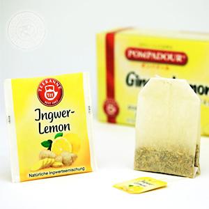 ポンパドール ジンジャー&レモン 10ティーバッグ(ホット20杯分)