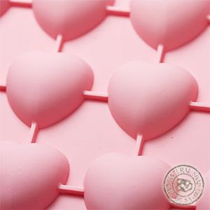 シリコンモールド チョコレートモールド ハート【ポストお届け可/50】