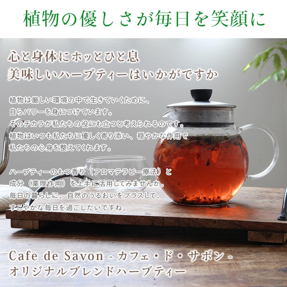 オリジナルブレンドハーブティー ホット&スリム 100g 【ポストお届け可】