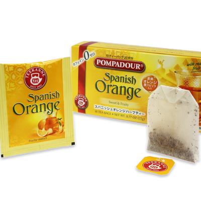 ポンパドール スパニッシュオレンジハーブティー 10ティーバッグ