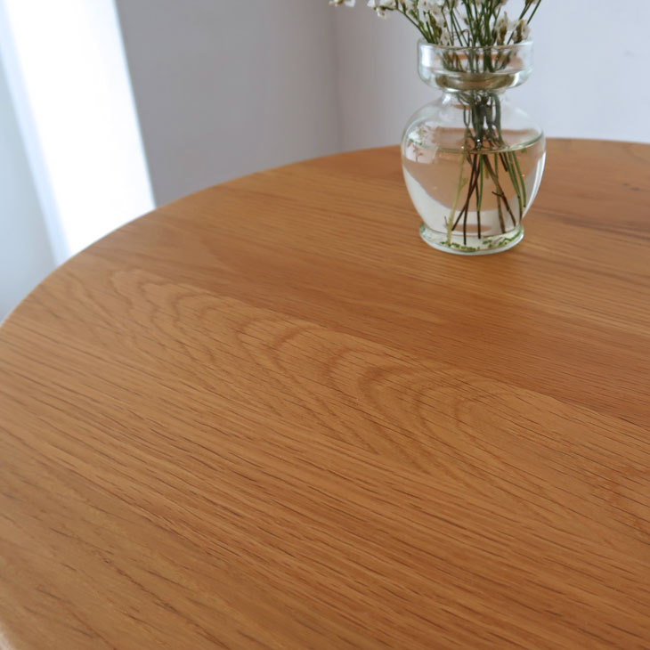 サイドテーブル シェーカーテーブル オーク材 無垢