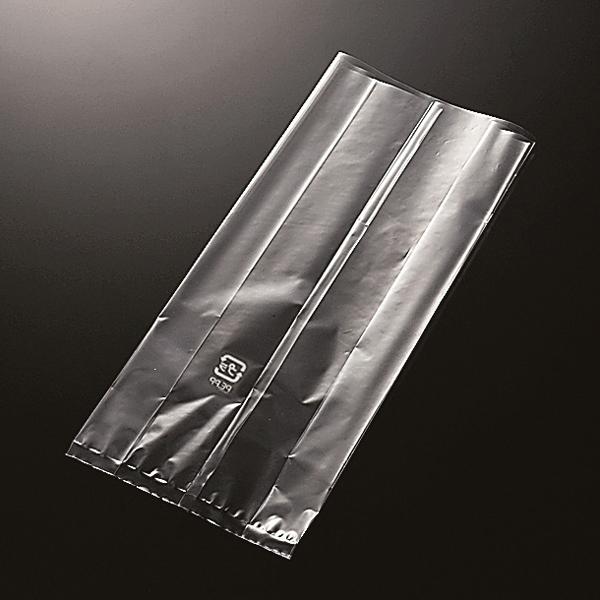 ラッピング袋 (透明) 100枚入 ソフトカップ15cm対応 マチあり エージレス対応 XF8900-100