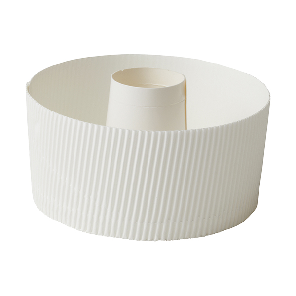 スモール シフォンカップ 12cm (白) 10枚入 SC835-10