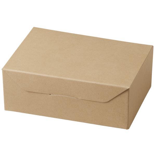 クラフト ギフトボックス 5個用(クラフト) 50枚入 ミルクボトル 対応 KS5200-50