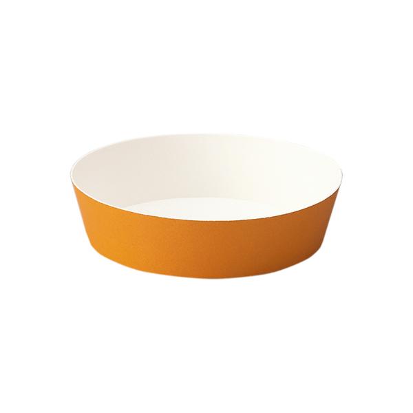 ラウンドココット (オレンジ) 50枚入 PC503-50