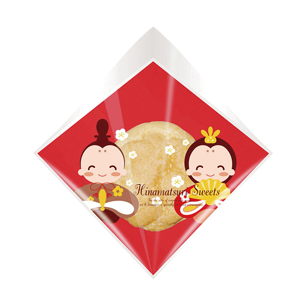 シュークリーム 袋 (ひなまつり) 10枚 KMK32-10