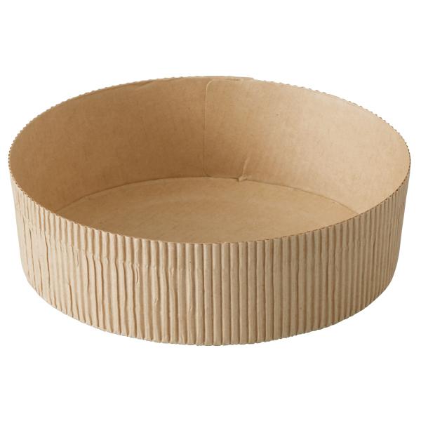 ソフト ベーキングカップ 15cm (クラフト) 10枚入 SC8749-10