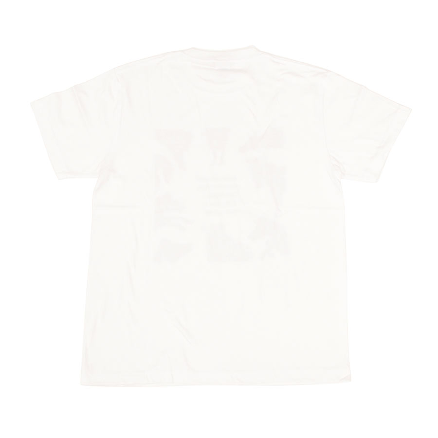 Tシャツ ユニセックス<うまくいく紋・ホワイト> 【クリックポスト:容量80】
