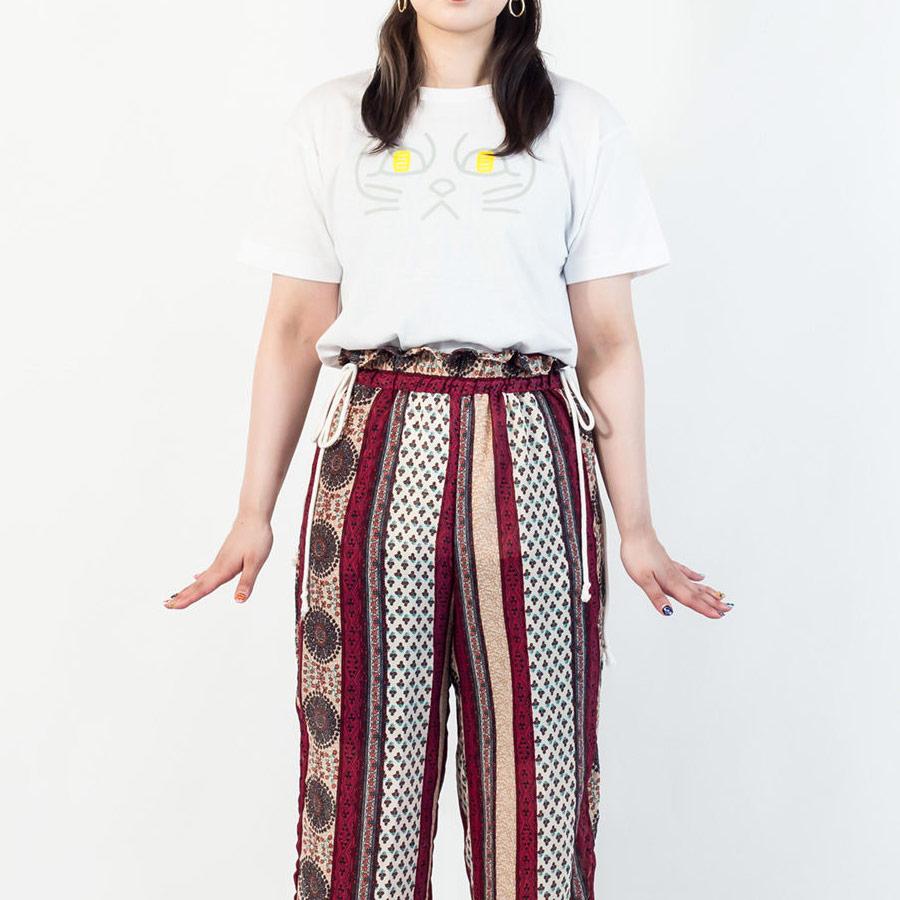 Tシャツ ユニセックス うまくいく紋<[金運招福]の神様・ホワイト> 【クリックポスト:容量80】【45%OFF】