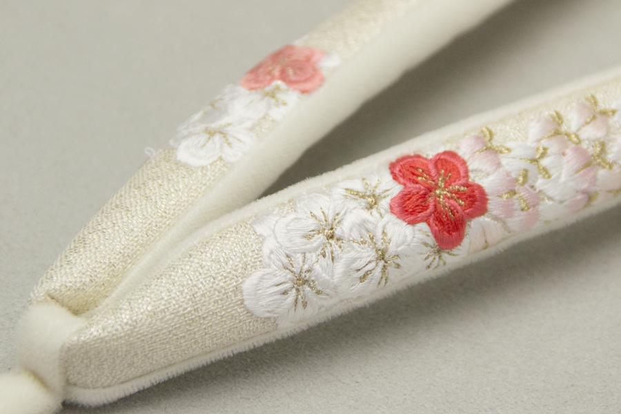 鼻緒単品 「菱屋製・刺繍」 レディース No.011