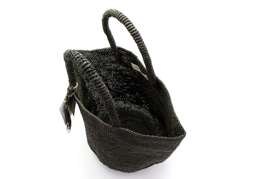 [Sans Arcidet(サンアルシデ)]ラフィアかごバッグ KAPITY BAG.M.K<NATURAL> 【20%OFF】