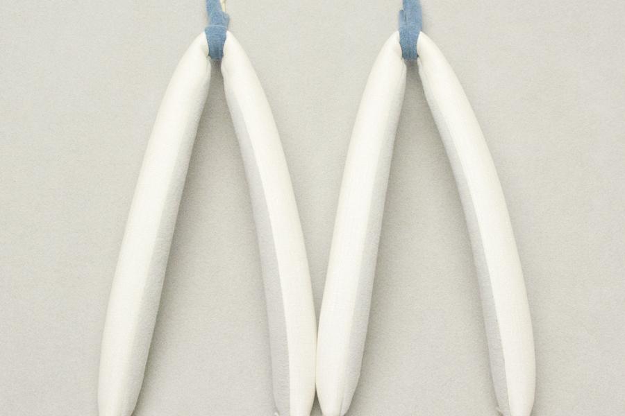 鼻緒単品 PVC<ナチュラルホワイト> レディース No.032