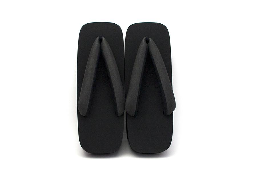 【再入荷】ゲタサンダル Geta Flip Flops No.TWA-BK(ブラック)
