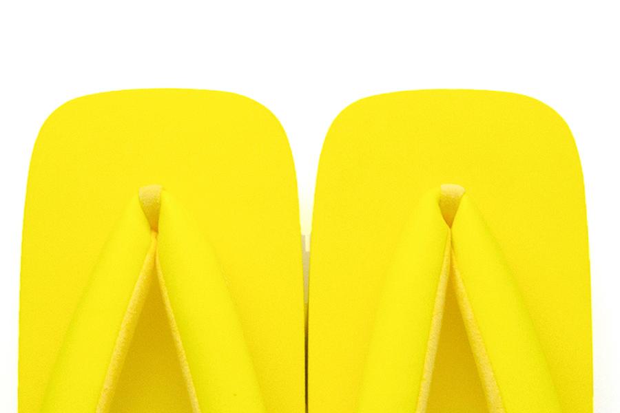 【再入荷】ゲタサンダル Geta Flip Flops No.TWA-YE(イエロー)