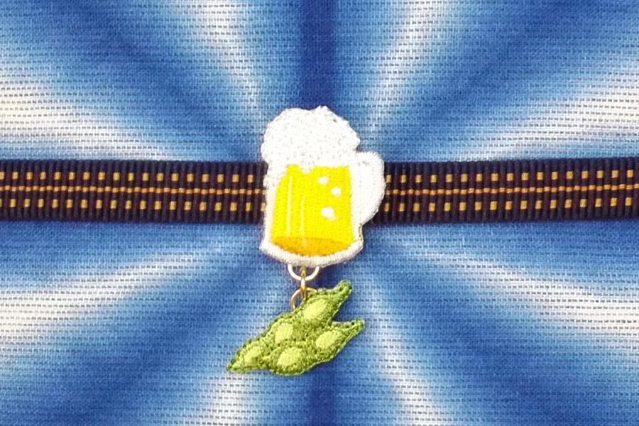 はなおび留 <ビールと枝豆>