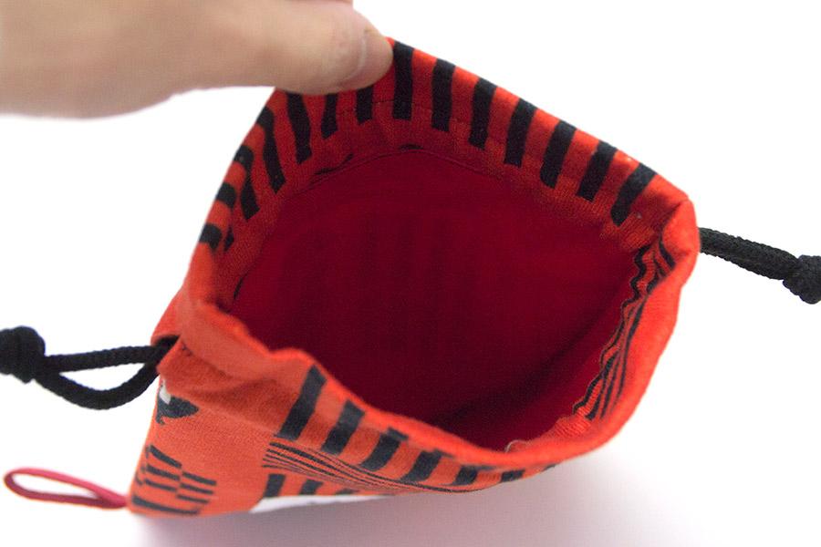 ペットボトルケース(500ml) 巾着型 うまくいく紋<[商売繁盛]の神様>【クリックポスト:容量80】