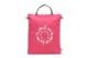 谷町 帆布<うまくいく紋・MONUMA・ピンク>(ショルダーストラップ付き/プラスチック素材)