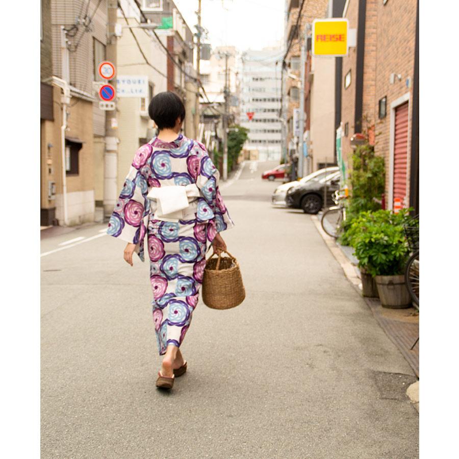 夏きもの・ゆかた <牡丹・ピンク>