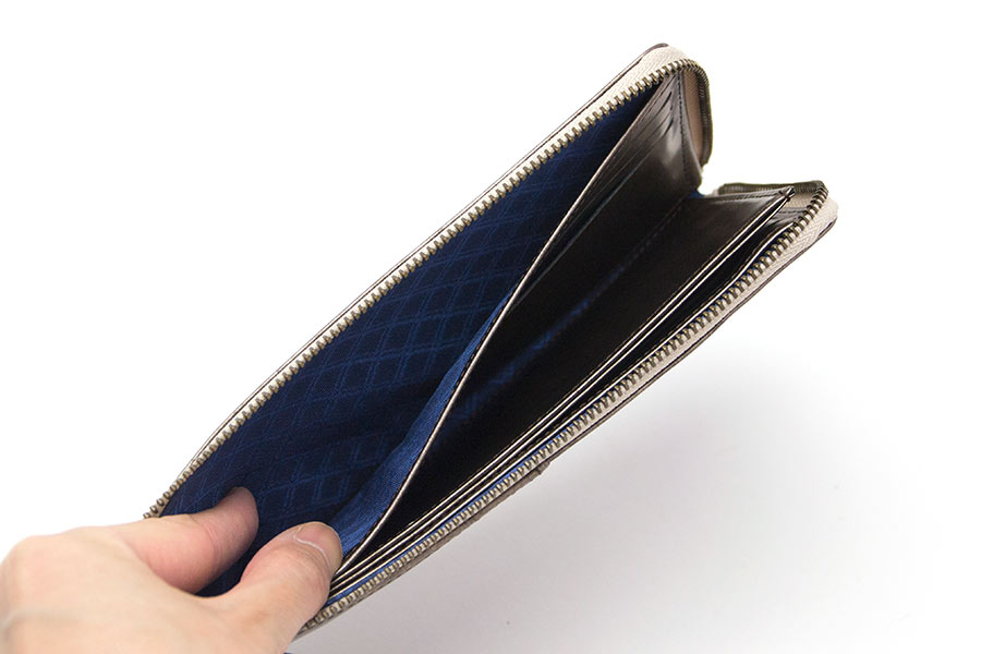 縦たば財布ロング GVR<コッパーゴールド>