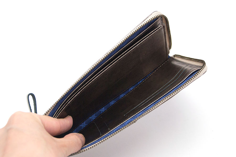 縦たば財布ロング GVR<マットブラック>