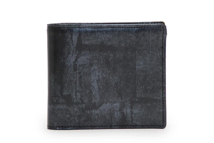ウォレットA(二つ折り財布) GVR<マットブラック>