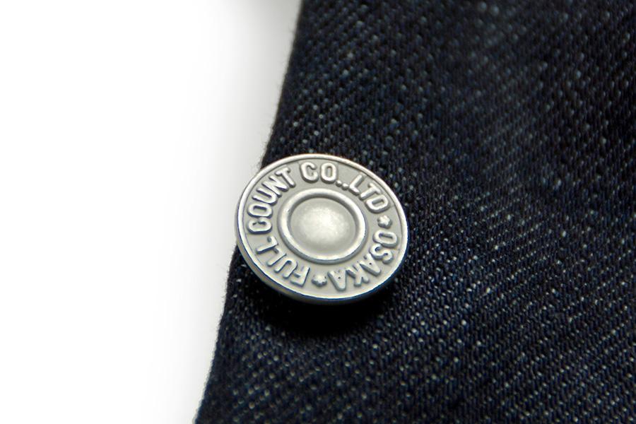 デニム着物 メンズ CB#511 <ポケット・ベルトループ付きモデル>