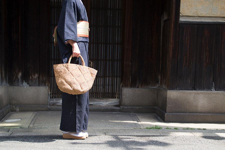 [Sans Arcidet(サンアルシデ)]ラフィアかごバッグ KAPITY BAG M MC K<CORAIL>【20%OFF】
