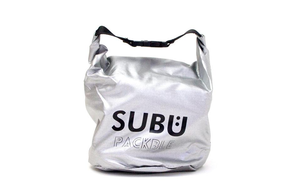 [SUBU PACKBLE]屋内外兼用サンダル-折りたたみ式 <フォイルシルバー> 2019collectionモデル【30%OFF】