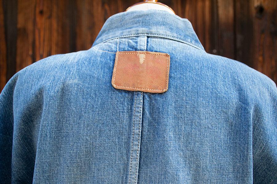 デニム着物 メンズ CB#511 <ポケット・ベルトループ付きモデル/ウォッシュ加工>