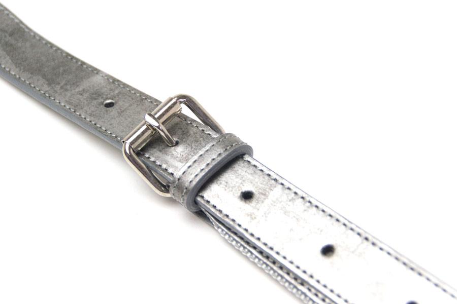 ショルダーストラップB[片面レザーモデル] GVR<いぶし銀>