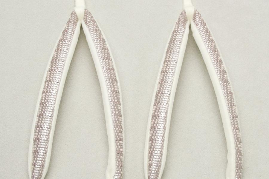 鼻緒単品 「菱屋製・鎧織」 レディース No.004